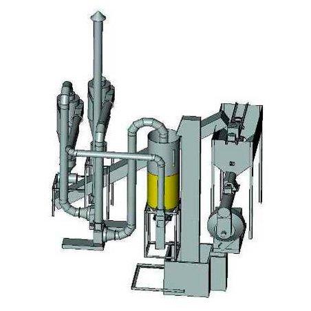 Блок гранулирования на базе пресса ОГМ-1,5