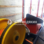 Брикетировщик шелухи подсолнечника - отгрузка - Одесса - 2