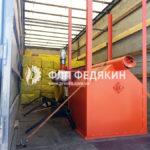 Брикетировщик шелухи подсолнечника - отгрузка - Одесса - 4