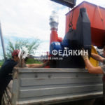 Пресс брикетировщик SCORPION - отгрузка г. Краматорск - 03072017 - фото 1