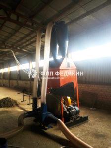 Пресс для брикетов с воздушным транспортом сырья - фото 3