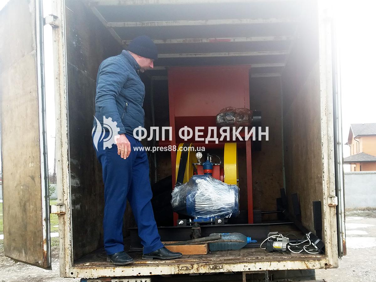 Пресс для брикетов - отгрузка - Петровское - фото 1